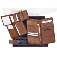 Leather Men Travel Wallets