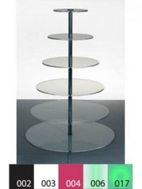 Six Level Acrylic Product Display Stand