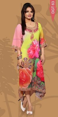 Fantastic Digital Printed Kurtis