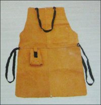 Split Leather Welding Apron (Gt-8005)