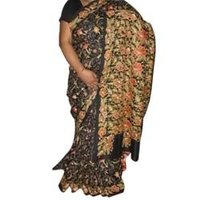 Nakshi Kantha Embroidery Saree