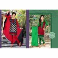 Designer Churidar Cotton Suits