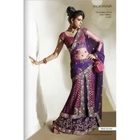Cultured Designer Ladies Lehenga Saree