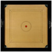 Carrom Board with Cut Pocket