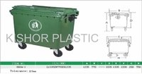 Plastic Industrial Waste Bins