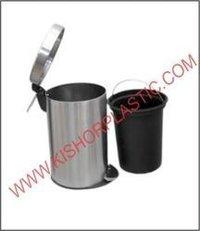 Stainless Steel Pedal Plain Dustbin