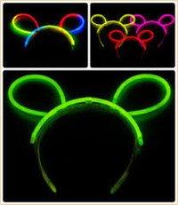 Neon Glow Head Bunny Hair Band