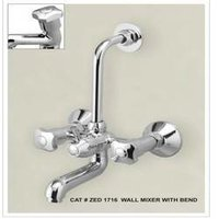 Designer Bathroom Wall Mixer With Bend