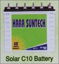 Solar C10 Battery