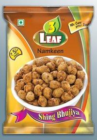 3 Leaf Namkeen Sing Bhujiya