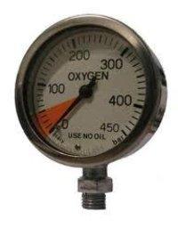 Oxygen Pressure Gauges