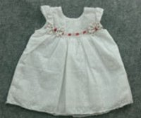 Baby Girl Chikan Frocks