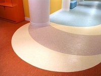Homogeneous Flooring For Hospital