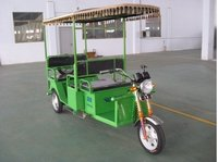 Pollution Free Passenger E-Rickshaw