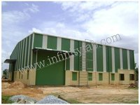 Pre Engineered Industrial Shed