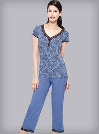 Ladies Lace Night Suits
