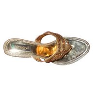 Golden Ladies Slippers