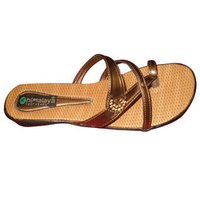 Brown Ladies Slippers