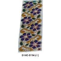 Designer Border Fabric Laces