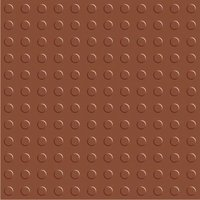 Buttons Terracotta Tile
