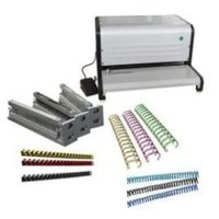 Electric Spiral Wiro Combo Binding Machine