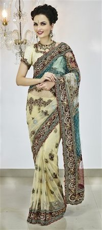 Border Work Party Saree