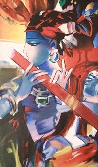 Lord Krishna Painting