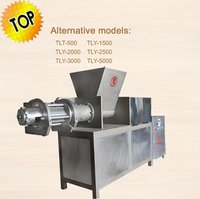 Meat Separator For Meat And Bone Deboning
