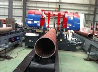 CNC High Speed Pipe Cutting Band Saw Machine