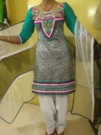 Designer Suit With Designer Dupatta