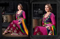 Dark Pink Anarkali Suit