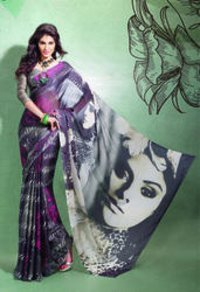 Ladies Fancy Digital Printed Sarees