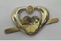 Heart Shape Brass Buckle