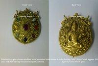 Attractive Kundan Meena Antique Pendant