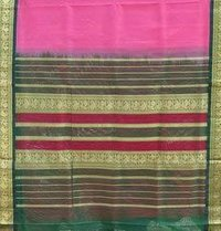 Korvai Richpallu Silk Cotton Saree