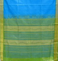 Big Border Plain Doria Saree