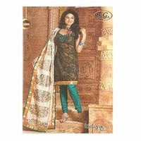 Alluring Design Chanderi Suit