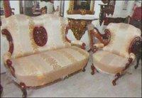 Wooden Sofa (Rhs 713)