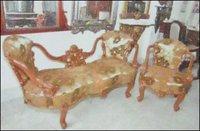 Wooden Sofa (Lys 714)