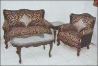 Wooden Sofa (Csc 715)
