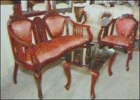 Wooden Sofa (Strs 718)