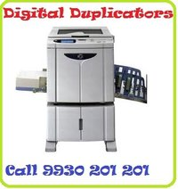 Blue Digital Duplicator