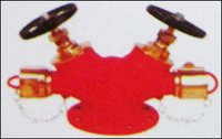 G M Landing Valve (Double Outlet)