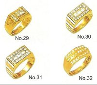 Fancy Design Gold Rings