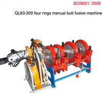 QL63-200 Four Rings Manual Flash Butt Welding Machine