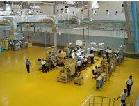 Epoxy Yellow Color Flooring