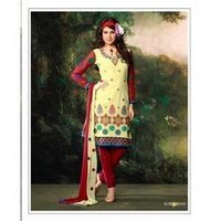 Printed Churidar Suit