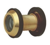 Brass Door Eye Round