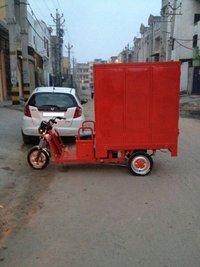 Cargo Box Rickshaw