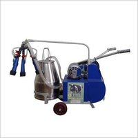Electric Motor Operated Milking Machine